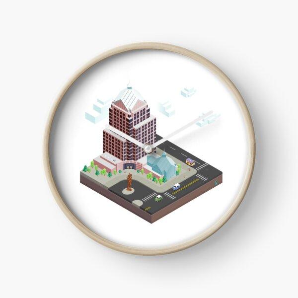 City Blocks: Legacy Tower (Rochester, NY) Clock