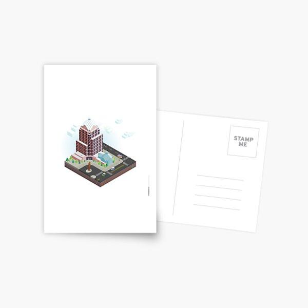City Blocks: Legacy Tower (Rochester, NY) Postcard