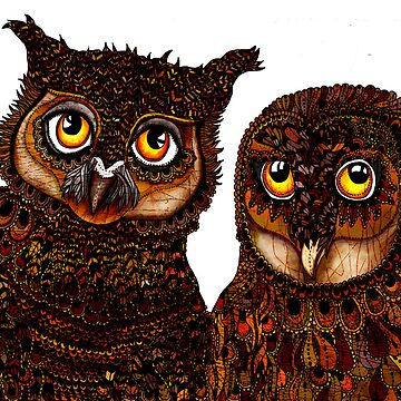 Owl Love by hollywils