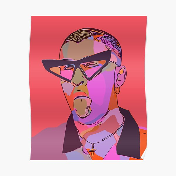 Bad Bunny Posters Redbubble