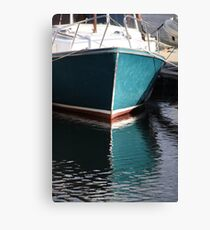 Koster Island boat Canvas Print