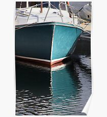 Koster Island boat Poster