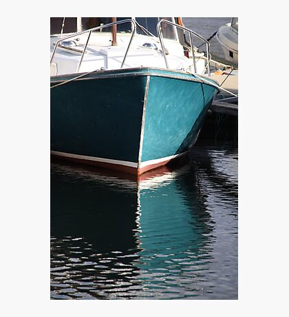 Koster Island boat Photographic Print