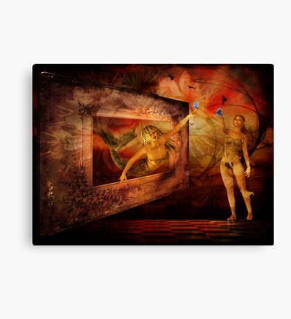 Looking Outward Together Canvas Print