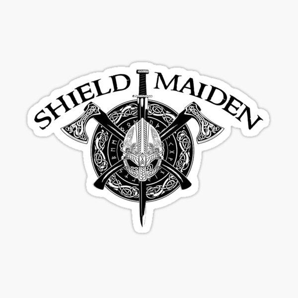Shield Maiden Sticker