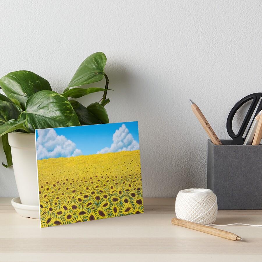 Illusions Art Board Print