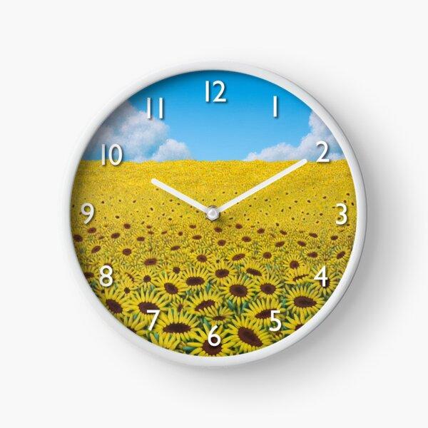 Illusions Clock