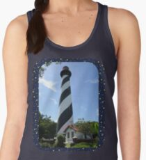 St. Augustine Lighthouse ~ 1874 Women's Tank Top
