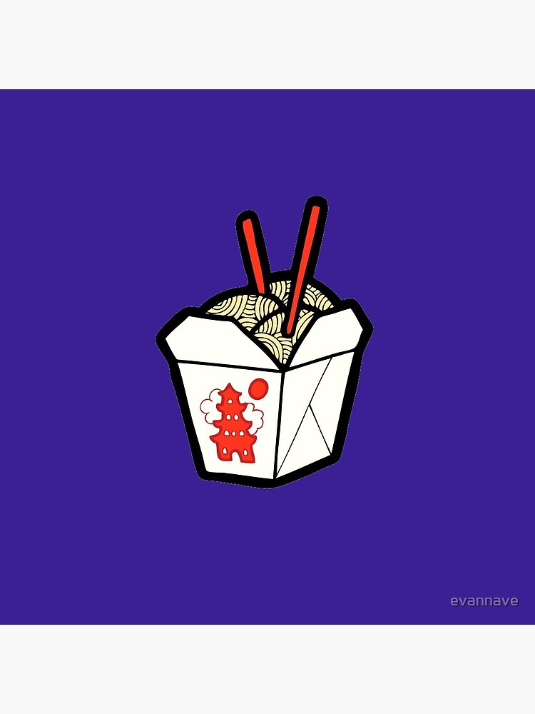 Take-Out Noodles Box Pattern by evannave