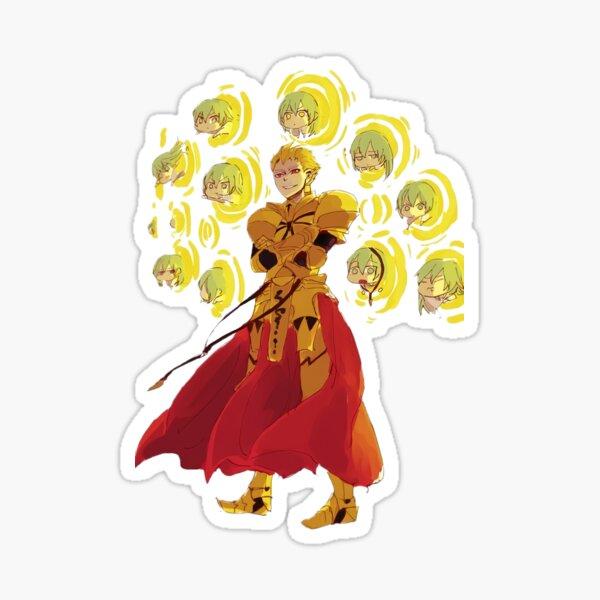 Gilgamesh using the best weapon Sticker
