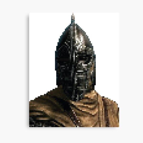 Whiterun Guard Pixelart Canvas Print