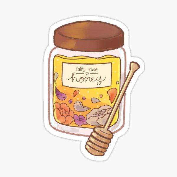 Fairy Rose Honey Sticker