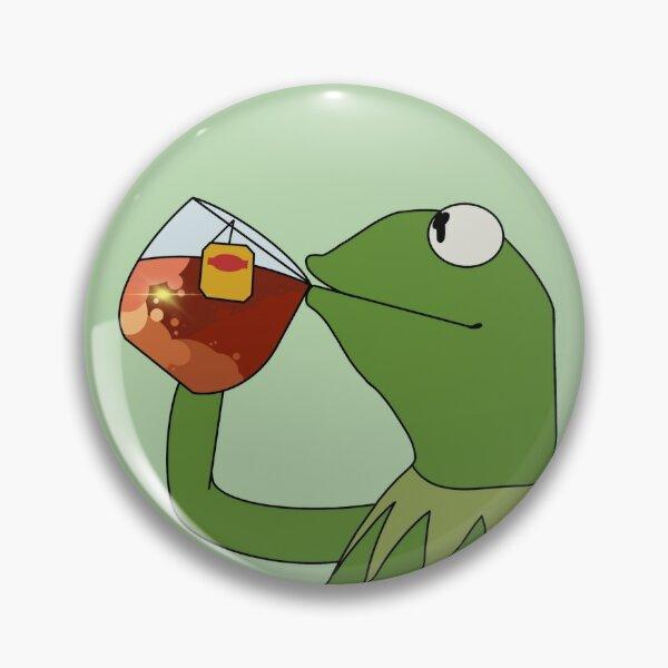 Lipton Iced Tea Kermit Pin