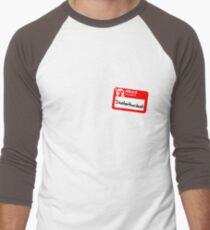 My Name Is Dentarthurdent Men's Baseball ¾ T-Shirt