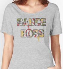 Sauce Boss Women's Relaxed Fit T-Shirt