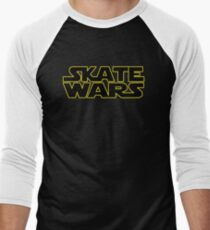 SkateWars Men's Baseball ¾ T-Shirt