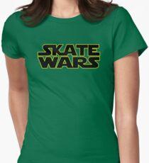 SkateWars Womens Fitted T-Shirt