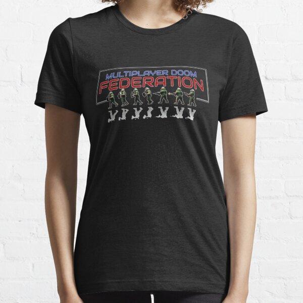 Multiplayer Doom Federation Essential T-Shirt