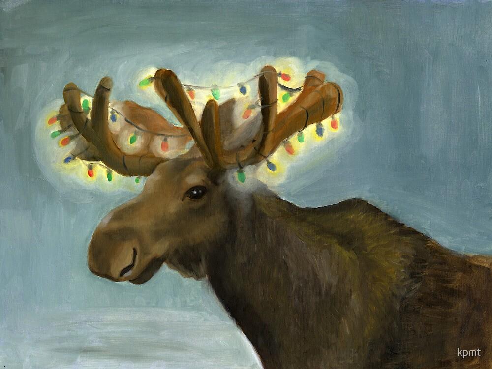Christmas Antlers by kpmt