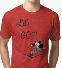 Let's Go!!! Tri-blend T-Shirt
