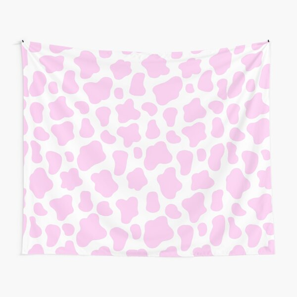 Pink cow print  Tapestry