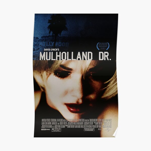 Mulholland Drive - Movie Poster Poster