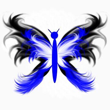 Stylized Butterfly 2 by tapiona