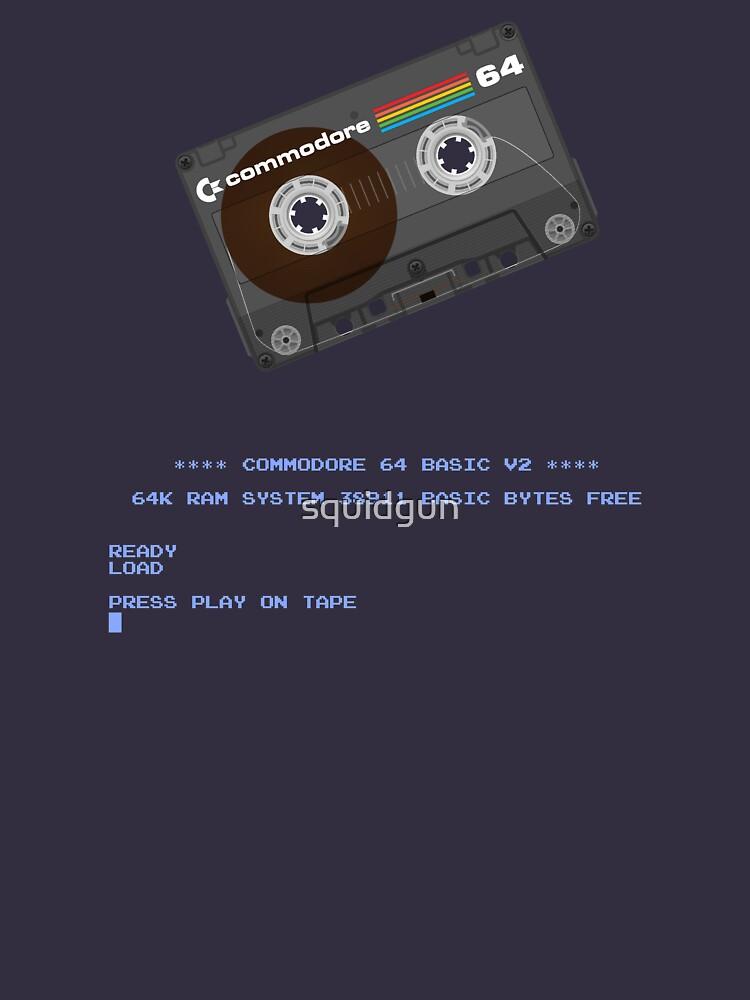 Commodore 64 Cassette Tape Cargando ... de squidgun