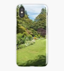 Garden Rooms, Butchart Gardens iPhone Case/Skin