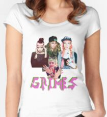 Grimes  Women's Fitted Scoop T-Shirt