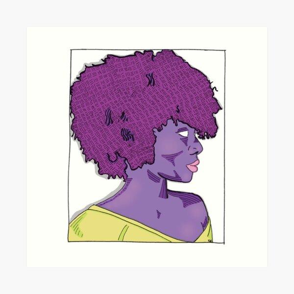 Nea in Color Art Print