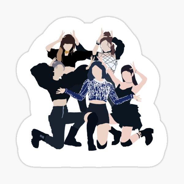ITZY- Wannabe Sticker