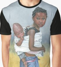 MY BROTHER, MY CHILD/Oil on canvas Graphic T-Shirt