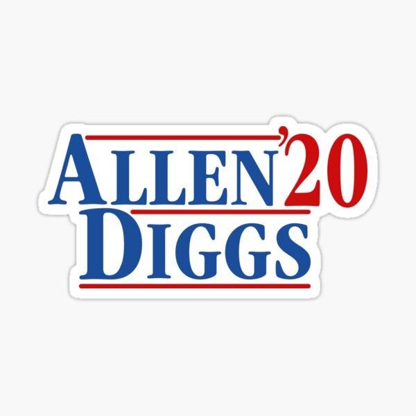 Josh Allen x Stefon Diggs 2020 Buffalo Bills Sticker