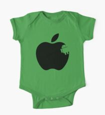 And the Android Takes A Bite Into the Apple One Piece - Short Sleeve