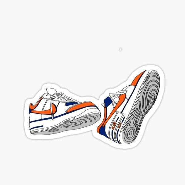 syracuse university sneakers Sticker