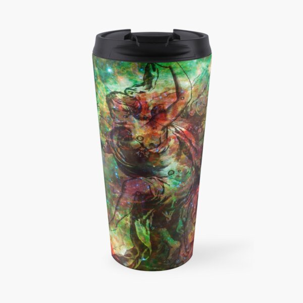 When The Stars Are Right - The Heart and Soul Nebulae in Cassiopeia Travel Mug