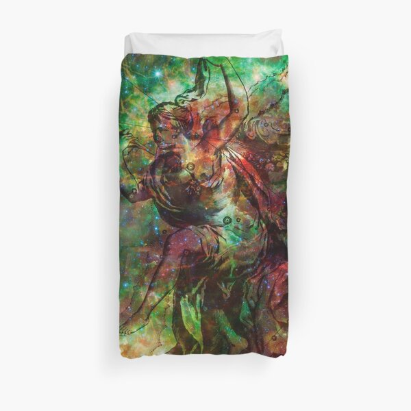 When The Stars Are Right - The Heart and Soul Nebulae in Cassiopeia Duvet Cover
