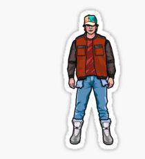 NOW IS THE FUTURE - Marty Mcfly 2015 Sticker