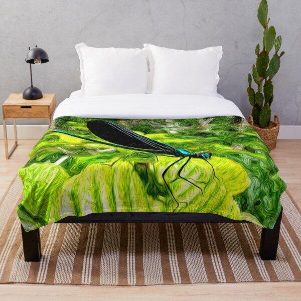 Spring Swirlings 10 Throw Blanket