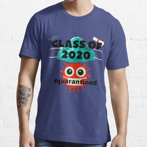2020 T-ShirtQuarantinedGraduationFunnyHigh Scho #COV