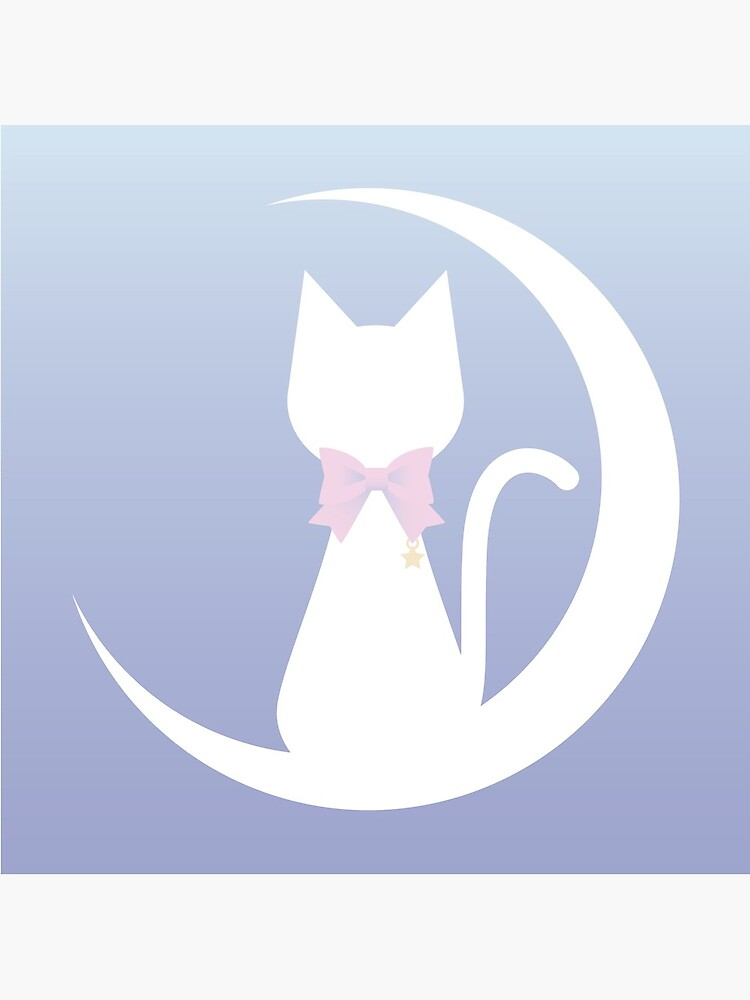 Cat on the Moon by lucidly