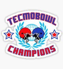 TECMO CHAMPIONS Sticker