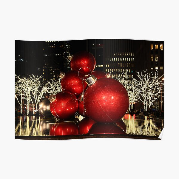 Its Christmas time in the City Poster