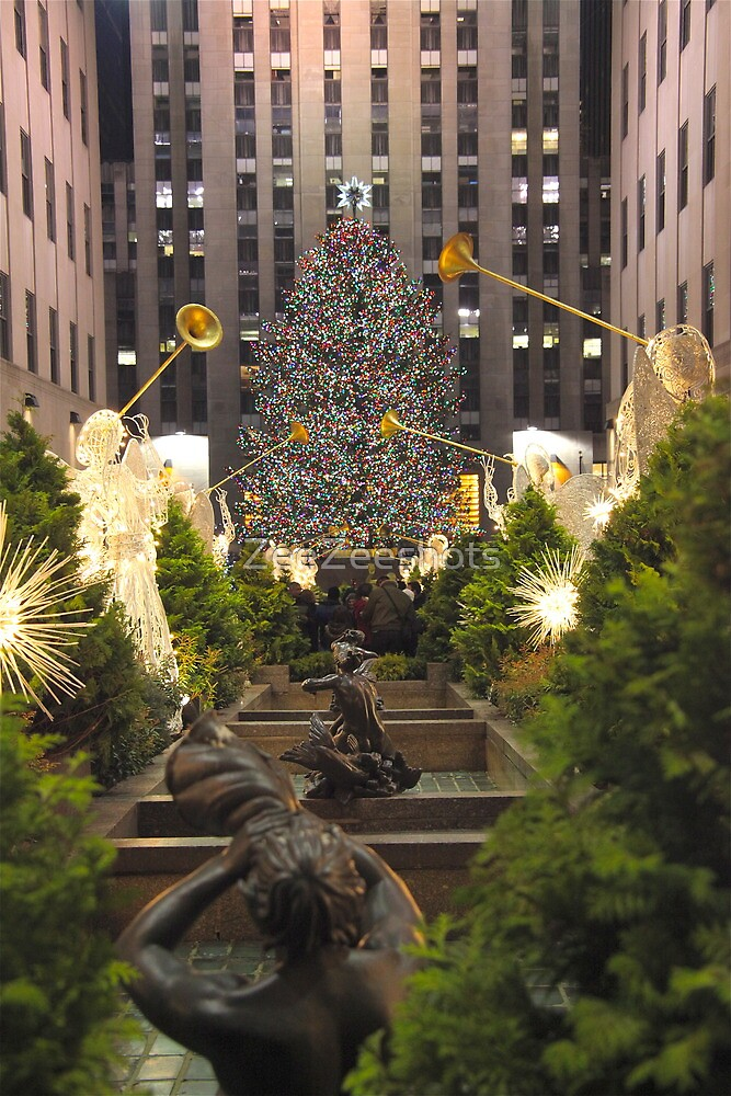 Christmas in Rockefeller Center by ZeeZeeshots