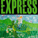Flying Sea Turtle Express Departs Vancouver on Schedule by QWERTYvsDVORAK