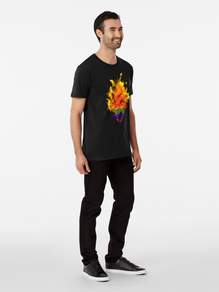 Alternate view of pride. Premium T-Shirt