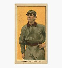 Benjamin K Edwards Collection Harry Howell St Louis Browns baseball card portrait Photographic Print