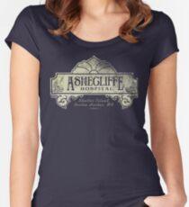 Shutter Island Ashecliffe Hospital Women's Fitted Scoop T-Shirt