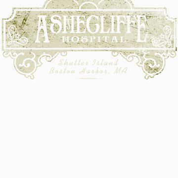 Shutter Island Ashecliffe Hospital by darkcloud